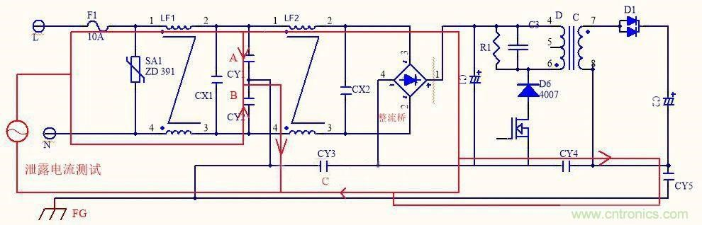 如何选取输入电源Y电容