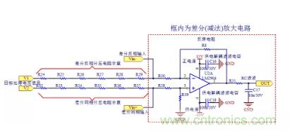 用差分电路原理来分析输出电压为何要偏移