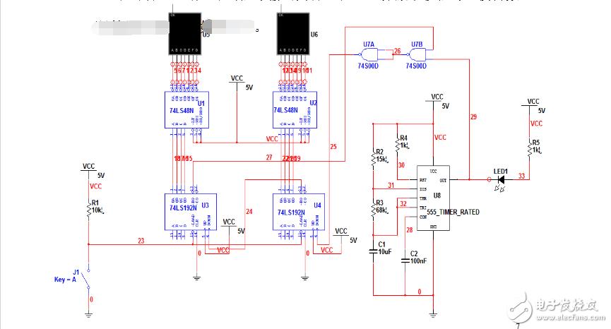 74ls148应用电路图大全(优先编码器\抢答器)