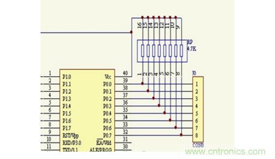 单片机排阻的作用