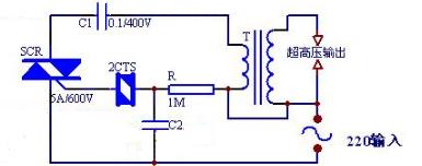 100kv高压发生器电路图(四款高压发生器电路图详解)