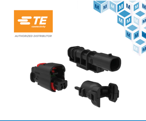 TE Connectivity enetSEAL+连接器系统在贸泽开售