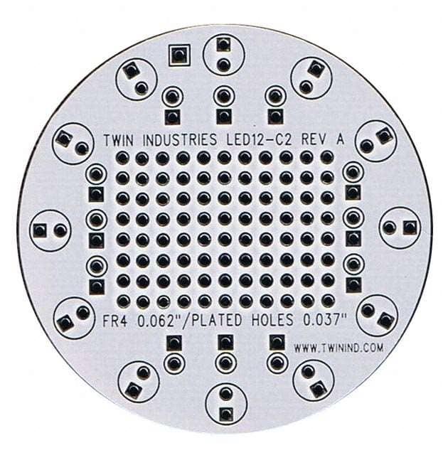 LED12-C2_有孔原型板