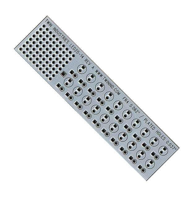 LED20-14_有孔原型板?