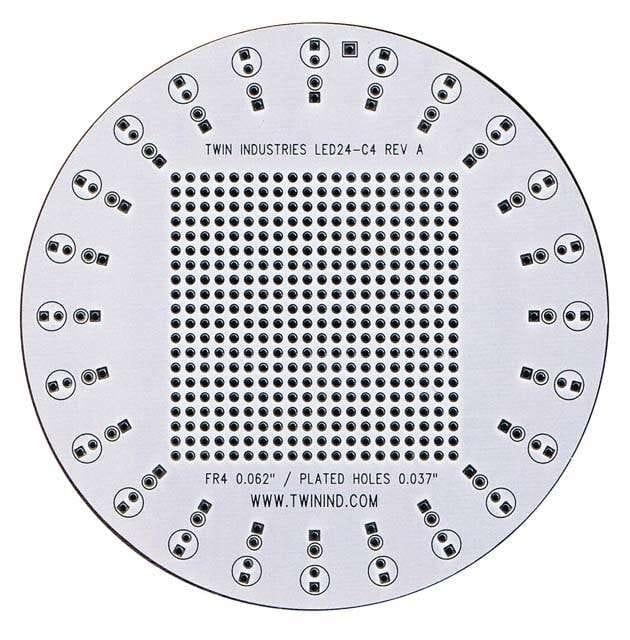 LED24-C4_有孔原型板?