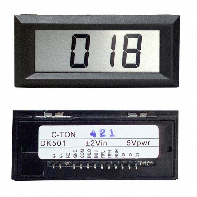 DK501_面板仪表