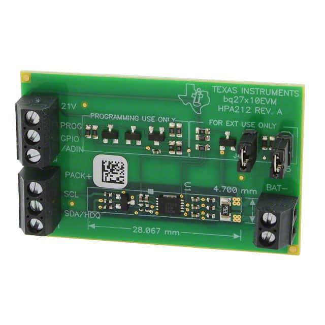 BQ27210EVM_评估板数字IC
