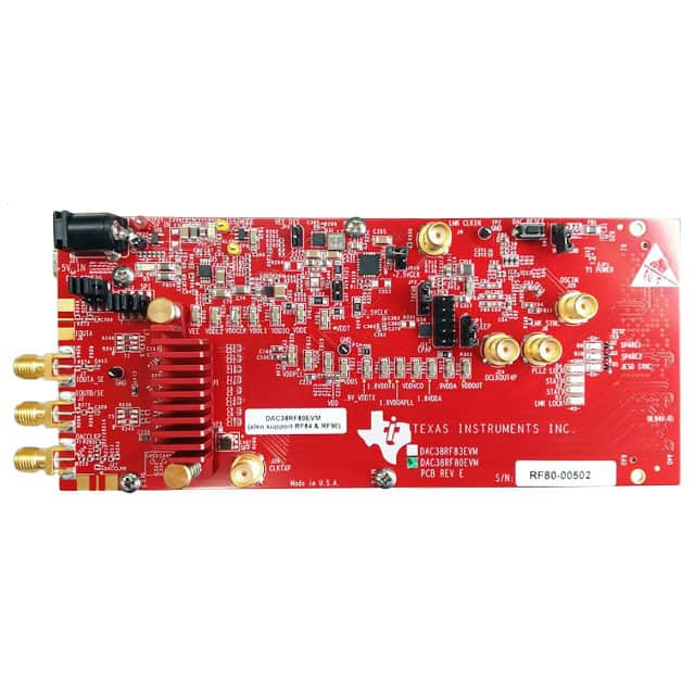 DAC38RF80EVM_评估板开发IC工具