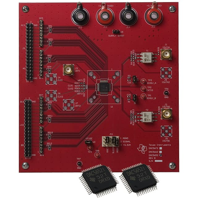 DAC5652EVM_评估板开发IC工具