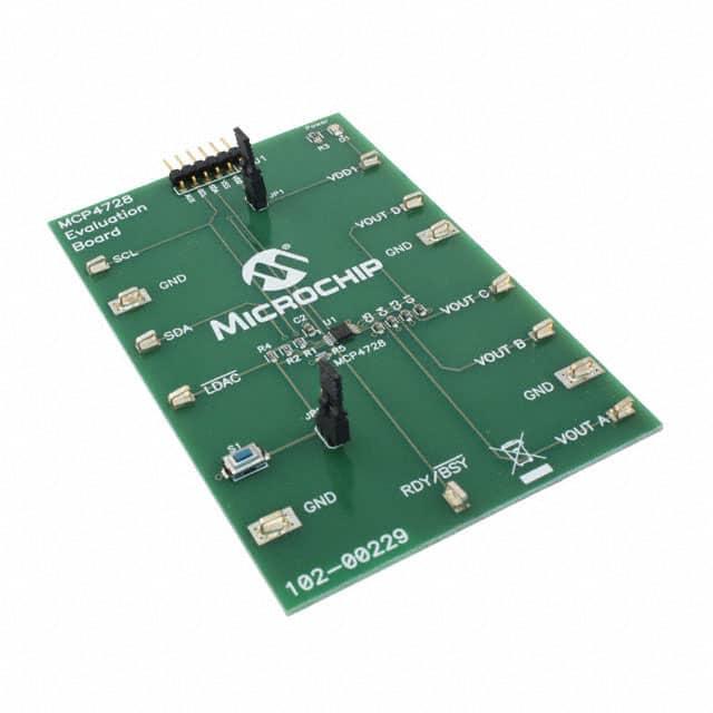 MCP4728EV_评估板开发IC工具