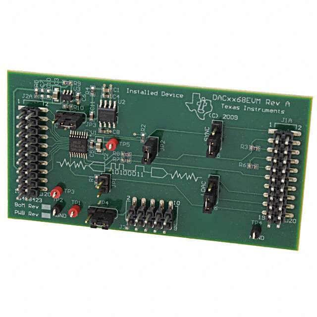 DAC8168EVM_评估板开发IC工具