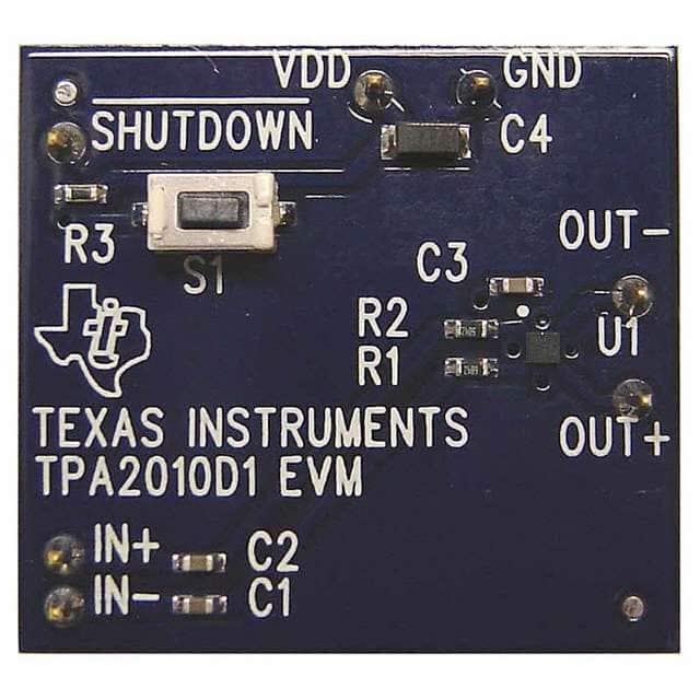 TPA2010D1EVM_音频IC开发工具