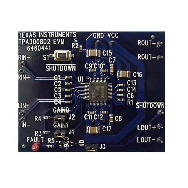 TPA3008D2EVM_音频IC开发工具