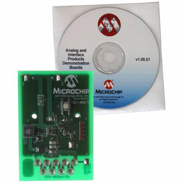 MCP1650DM-LED2_LED照明开发工具