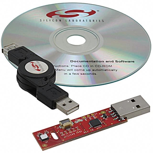 SI7005USB-DONGLE_传感器开发工具