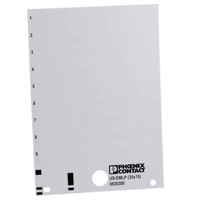 0830300_标签贴纸贴标空白