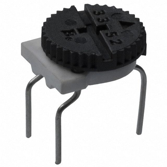 3352E-1-502LF_拨轮式电位器