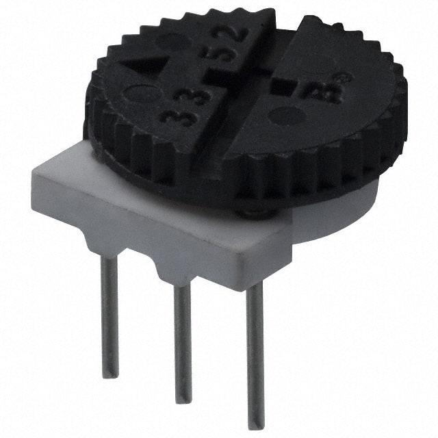 3352T-1-500_拨轮式电位器
