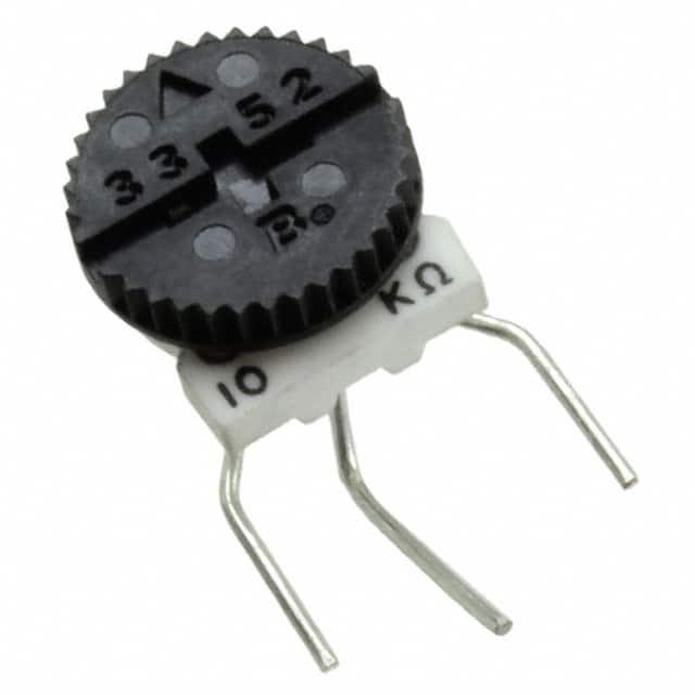 3352V-1-501_拨轮式电位器