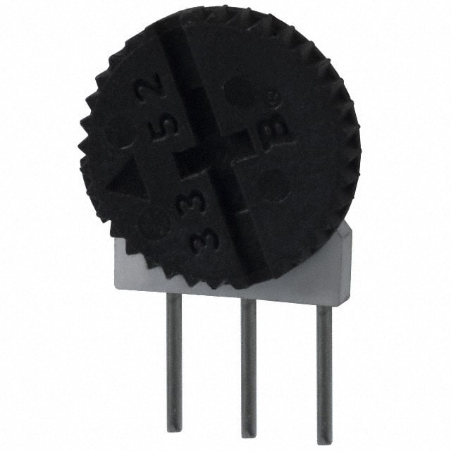 3352W-1-100_拨轮式电位器