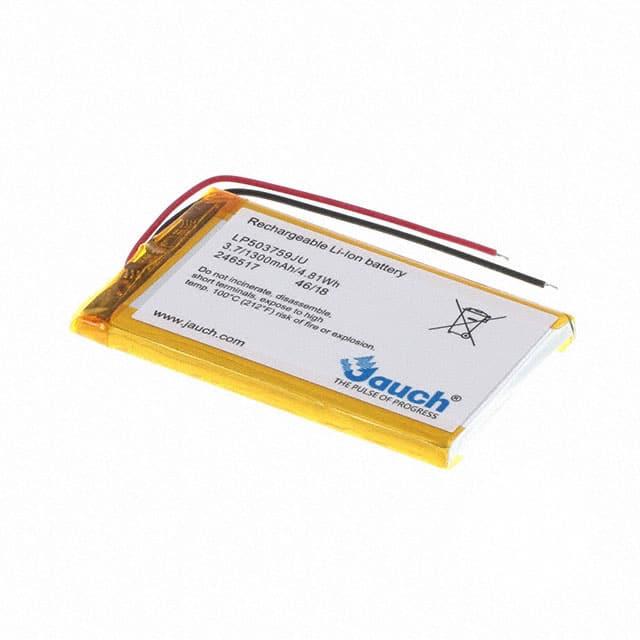 LP503759JU PCM+2 WIRES 70MM_充电电池
