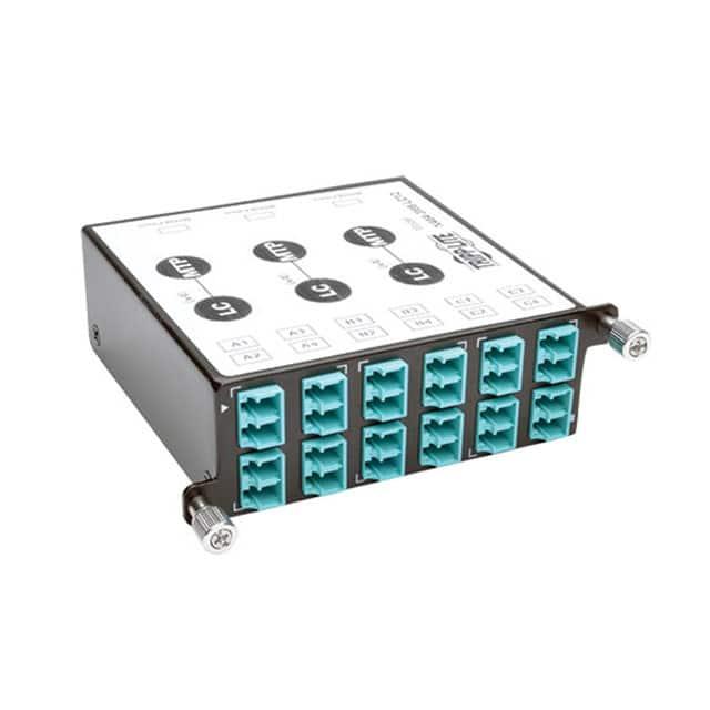 N484-3M8-LC12_插头板,插孔面板