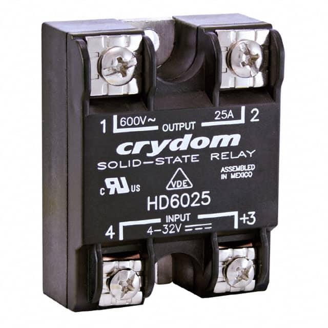 HD6050_固态继电器-PCB安装