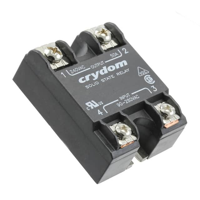 D1D12_固态继电器-PCB安装