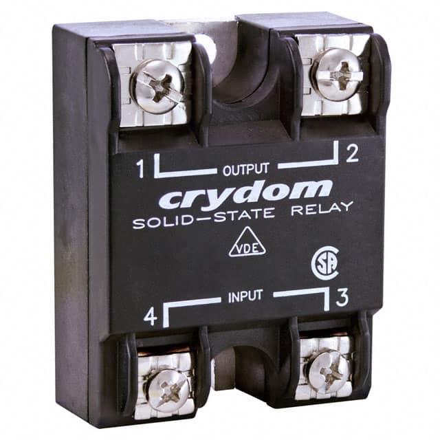 HA4850_固态继电器-PCB安装