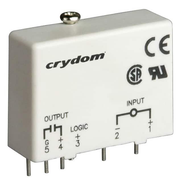 IDC5_继电器模块机架