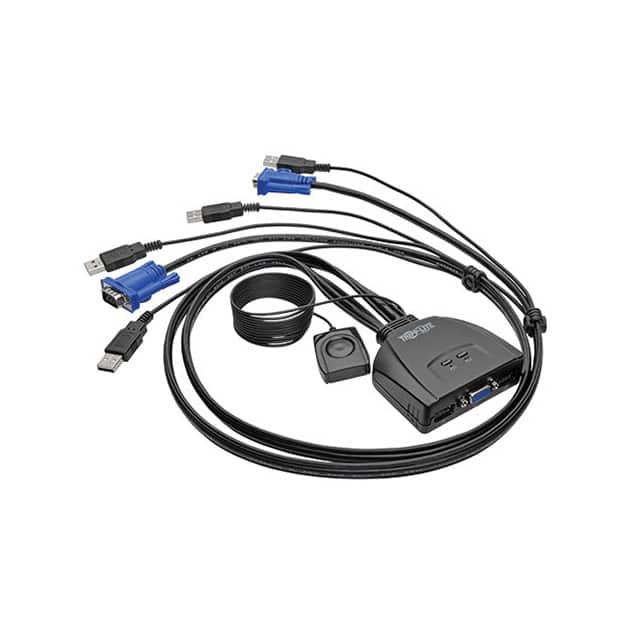 B032-VU2_键盘视频鼠标切换器KVM