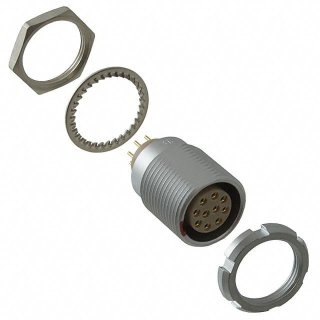 ECG.2B.310.CLN_圆形连接器