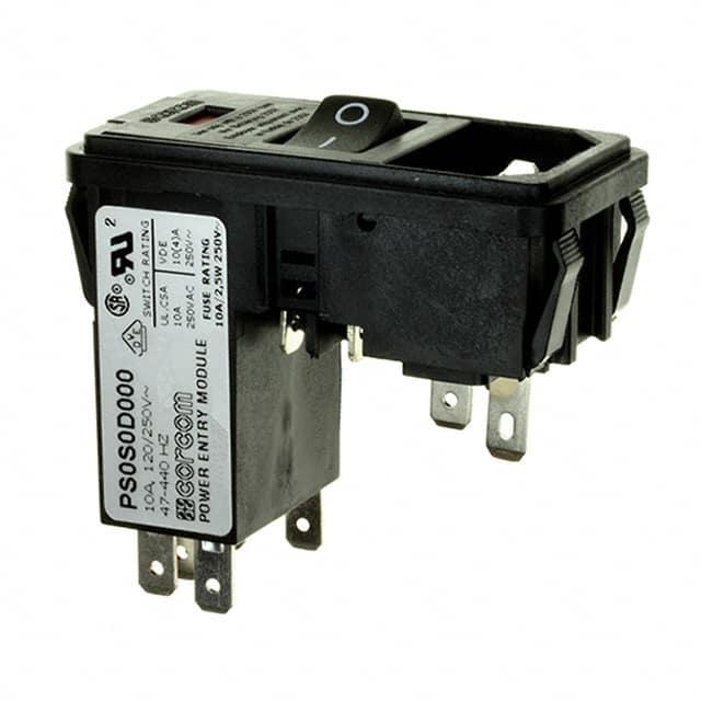 PS0S0D000_电源连接器-交流电源输入模块