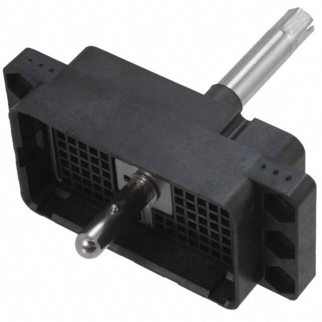 DL2-96P_背板连接器外壳