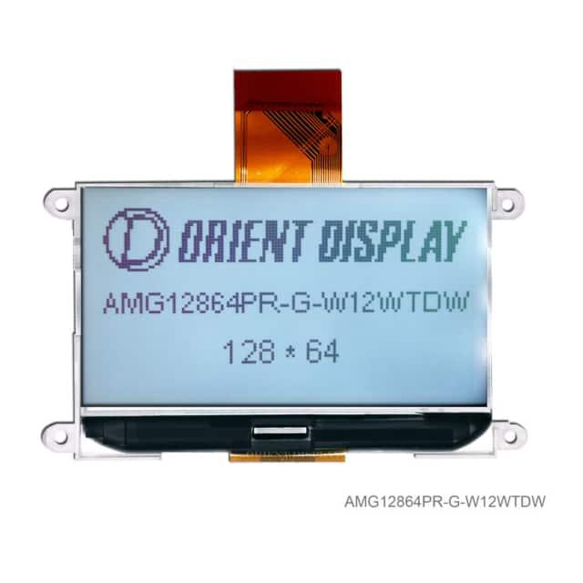 AMG12864PR-G-W12WTDW_显示模块