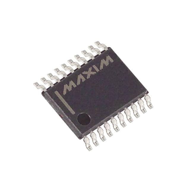 MAX333AEUP+_多路复用芯片-多路分解器芯片